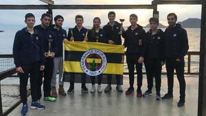 Fenerbahçe Doğuş Yelken Şubesinden birincilik