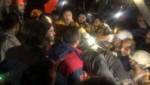 Amasyada göçükten kurtarılan 3 madenci, taburcu edildi