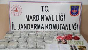Mısır tarlasında PKKnın 21 kilo plastik patlayıcısı bulundu