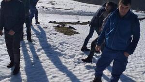 Uluyayla'da 5 kişi mahsur kaldı