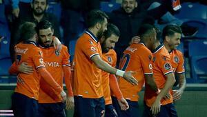 Lider Başakşehir, Kasımpaşayı 2 golle geçti