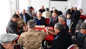 Tunceli Valisi Sonelden Ovacıka ziyaret