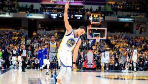 Steph Curry yine zafer mimarı oldu