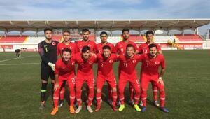 U19 Milli Takımı, Slovenyayı 1-0 yendi