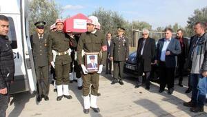Kıbrıs gazisi Göher, törenle son yolculuğuna uğurlandı
