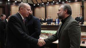 Cumhurbaşkanı Erdoğandan Oktay Kaynarcaya: Burada bir tane reis var
