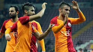 Galatasaraydan gollü zafer Aslan çeyrek finalde...