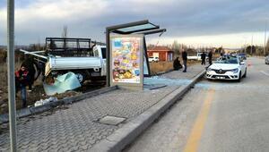 Çubuk'ta zincirleme kaza: 3 yaralı