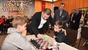 Çanda Satranç Turnuvası heyecanı başladı