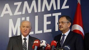 Son dakika: Bahçeliden flaş açıklama: AK Parti adayını destekleyeceğiz