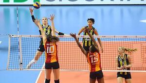 Derbi maçta Fenerbahçe, Galatasarayı devirdi