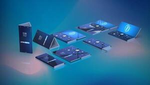Intelden üç ekranlı katlanabilen telefon geliyor