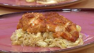 Pekmezli lahanalı tavuk bonfile nasıl yapılır Pekmezli lahanalı tavuk tarifi