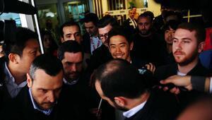 Beşiktaşın anlaşmaya vardığı Kagawa İstanbula geldi