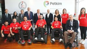 Petkim'den Boccia Milli Takımı'na tam destek