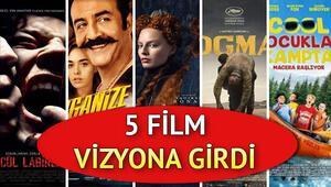 Sinemada bu hafta hangi filmler var Bu hafta 5 film vizyona girdi