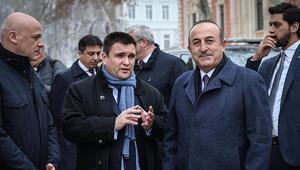 Dışişleri Bakanı Çavuşoğlu Ukraynada