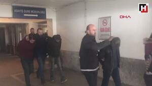 1 kişiyi gasp eden 7 kişi polis tarafından yakalandı