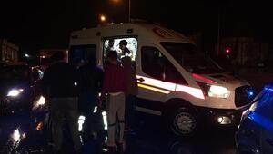 Samsunda 9 aracın karıştığı kazada, 2si çocuk 6 kişi yaralandı