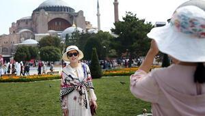 İstanbul neredeyse nüfusu kadar turist ağırladı