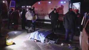 Adana Pozantıda otobüsle hafif ticari araç çarpıştı, ölü ve yaralılar var