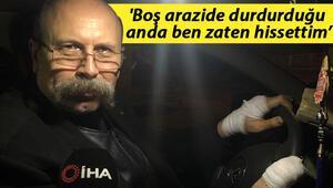 Bursa'da taksici dehşeti yaşadı