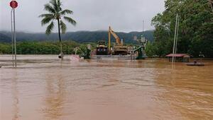 Avustralyada muson yağmuru sele neden oldu