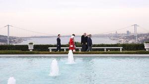 Cumhurbaşkanı Erdoğan, Ürdün Kralı ile bir araya geldi