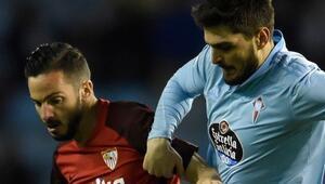 Sevilla karşısında galibiyeti getiren golü atan Okay, sakatlandı