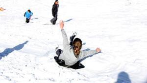 Rizede petranboardla kayak heyecanı