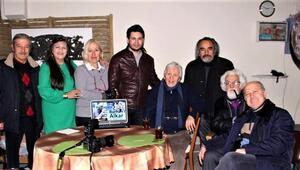 Heykeltıraş Burhan Alkar'a anlamlı ziyaret