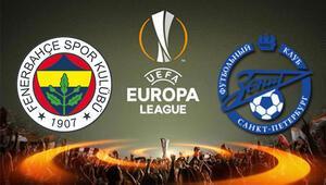 Fenerbahçe Zenit UEFA Avrupa Ligi maçı ne zaman saat kaçta hangi kanalda