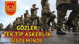 Tek tip askerlik yasası ne zaman yürürlüğe girecek Cumhurbaşkanı Erdoğandan yeni açıklama