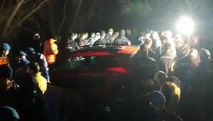 Çanakkalede dereye düşen otomobilden 3 gencin cesedi çıkarıldı, 1 kayıp