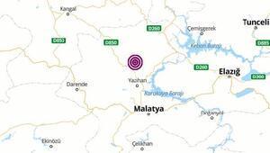 Malatyada 3.9 büyüklüğünde deprem