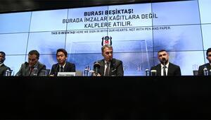 Beşiktaşta yeni transferler imzaladı, Kagawa gözdağı verdi
