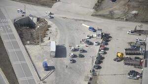 Kastamonuda helikopter destekli trafik denetimi