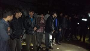 Afganistan uyruklu hırsızlık şüphelileri yakalandı