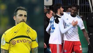 Berkay attı Hamburg turladı Dortmund, Werdere elendi...