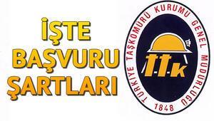 Türkiye Taşkömürü Kurumu (TTK) 1000 personel alımı yapacak