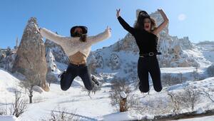 Kapadokya ocak ayının son 10 yıl rekorunu kırdı
