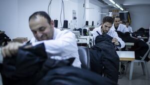 Antarktika soğuğunda giyiyorlar Hepsi yerli üretim...