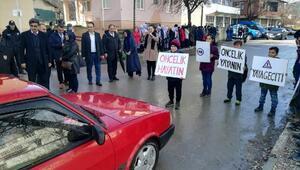 Bursada yaya öncelikli trafik etkinliği