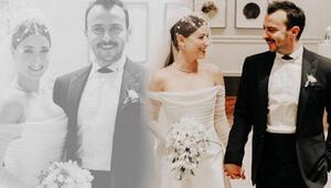 Hazal Kaya ile Ali Atay evlendi