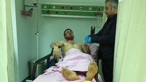 Samsunda alkol alan grup arasında silahlı kavga: 1 yaralı