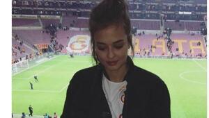 Galatasaray tribününde sürpriz isim