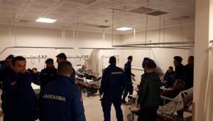 57 mahkum, gıda zehirlenmesi şüphesiyle hastaneye kaldırıldı