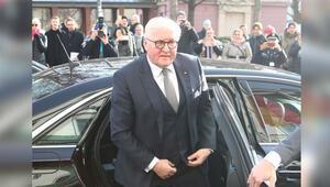 Steinmeier'den Frankfurt Emniyeti'ne ziyaret