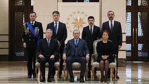 Cumhurbaşkanı Erdoğan büyükelçiler ile görüştü