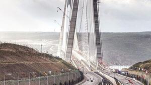 Çinlilerin gözü köprü ve yolda